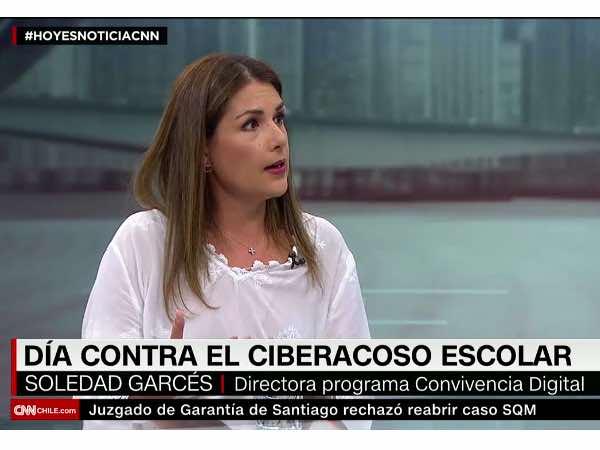 Soledad Garcés en CNN Chile